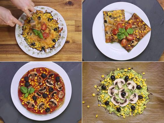 Low Carb Pizza - 4 leichte Ideen