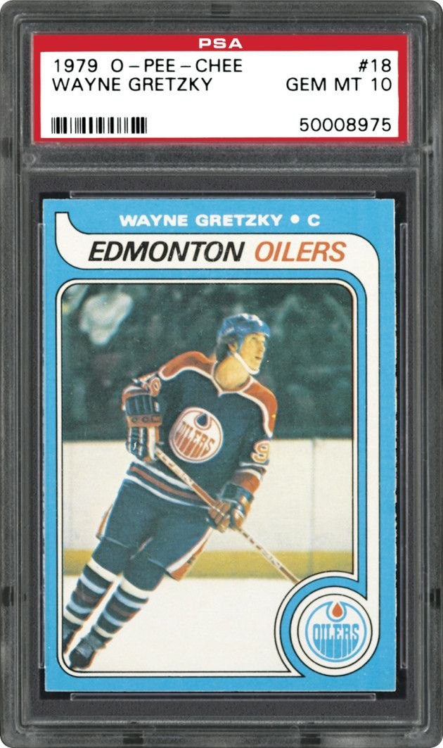 The 20 Most Expensive Sports Cards of AllTime Hockey