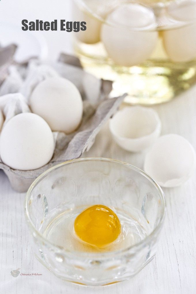 Easy to prepare homemade Salted Eggs using only chicken or duck eggs, kosher salt, Shao Hsing cooking wine, and water. The hardest part is the waiting. | | Food • Culture • Stories at MalaysianChineseK...