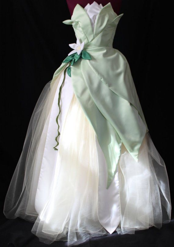 Princess Tiana CUSTOM costume from The Enchanted Cradle - ADULT sizes 2 to 12