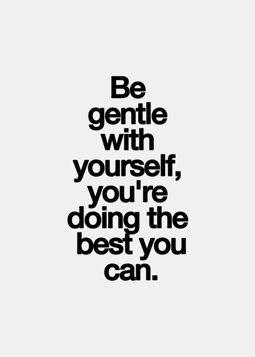 Both recovery and life in general can be so challenging and emotional. Be gentle with yourself, you're doing the best you can. And what you are doing is enough.#RecoveryQuotes #SelfCare