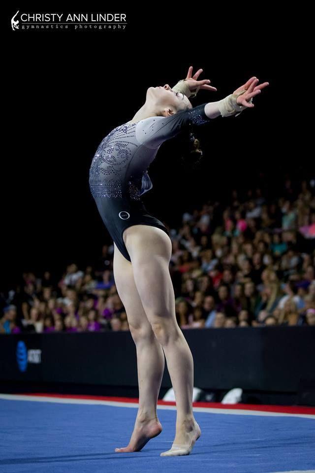 """usagymnastics:  """"Elena Arenas (Georgia Elite)  2017 US Classic (x)  """""""