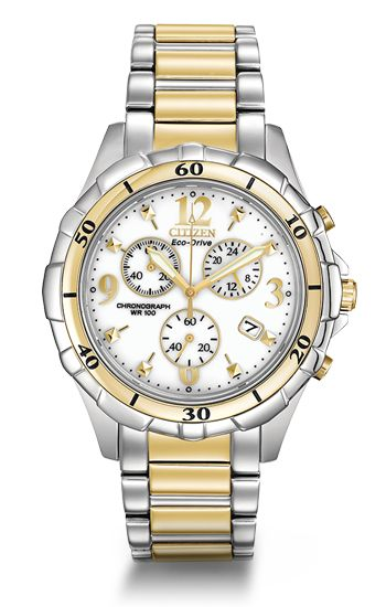 Citizen Eco-Drive Ladies' Chronograph FB1354-57A  #citizen #rickterryjewelry #knoxville
