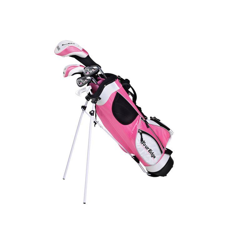 Tour Edge HT Max-J Jr 4x1 Youth Golf Set, Silver