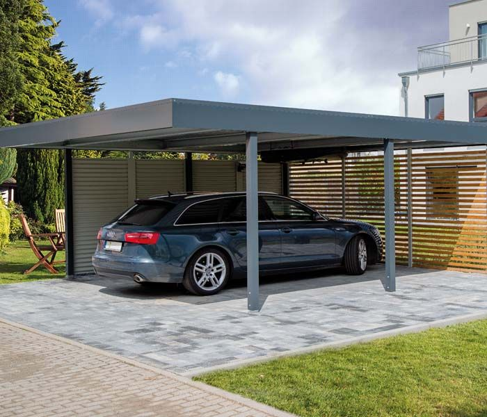 22 besten carport bilder auf pinterest verandas for Garage ad saint thurial