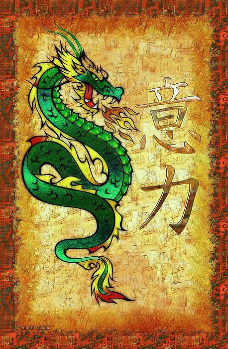 Chinese Dragon Power Symbolism