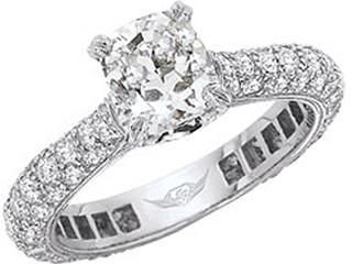 FlyerFit Forever Micropave Engagement Ring Bridal CollectionMartin