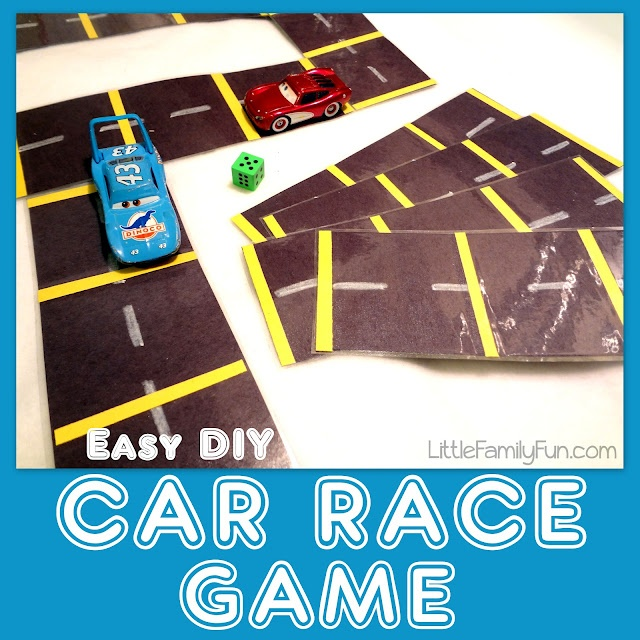 Easy to make Car Race Game!