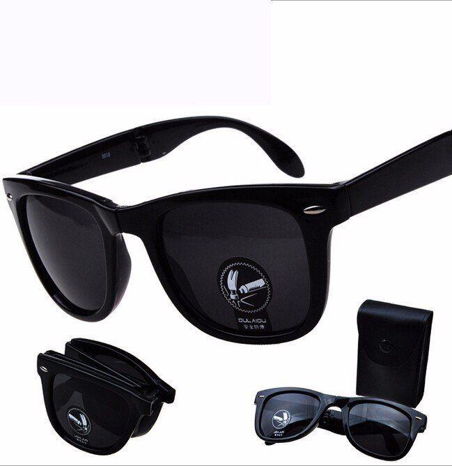 Classic Folding Sunglasses Wayfare Folding unisex sun glasses man and women eyewear Sports Glasses