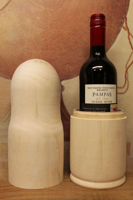SALE SALE Blank Wine Case  Paint your own unique gift by sersonart, $12.00 or dip dye it like on sweet paul