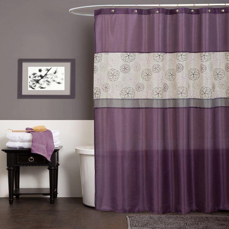 Purple Bathroom Decorations, Purple Bathroom