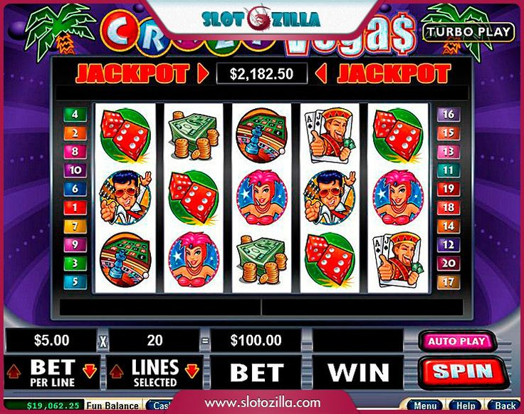 free online casino slot games for fun crazy slots