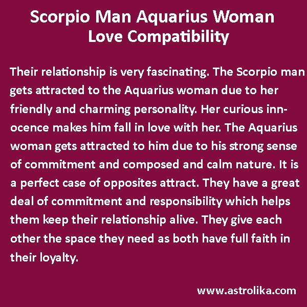 compatibility with scorpio woman and scorpio man