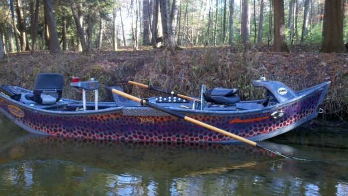Stealthcraft 16 39 superfly drift boat fishing pinterest for Drift boat fishing