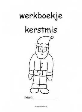Werkboekje kerstmis 1
