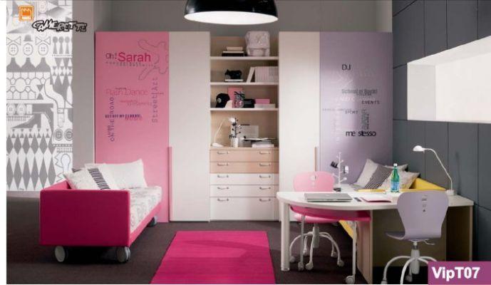 Pi di 25 fantastiche idee su design da camera per ragazze for Camere da letto per ragazze ikea