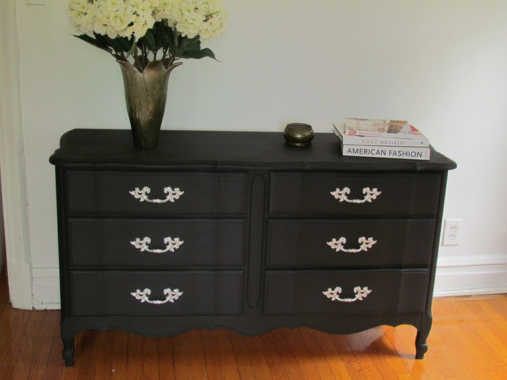 51 Best Images About Furniture Makeover On Pinterest Vintage Dressers How To Spray Paint And