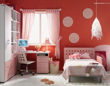 Pink Kids Bedroom Decor