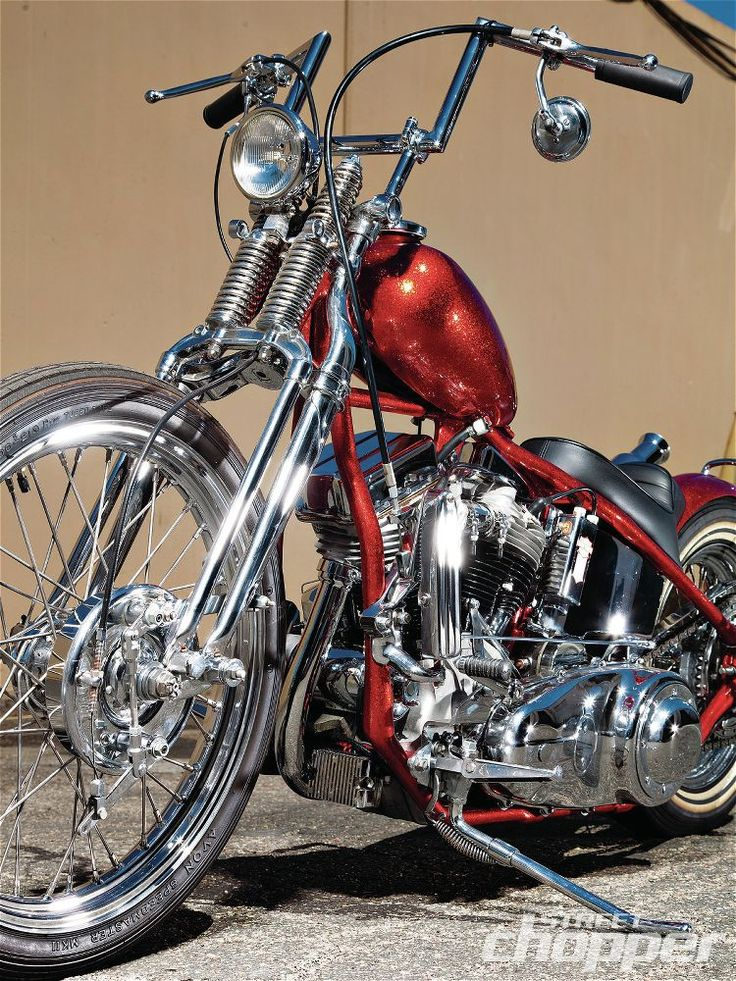 Street Chopper Magazine | Comin' Up Fives | 1955 Harley-Davidson Panhead