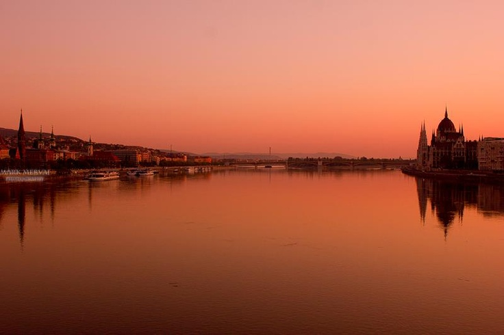 Budapest, the Danube.
