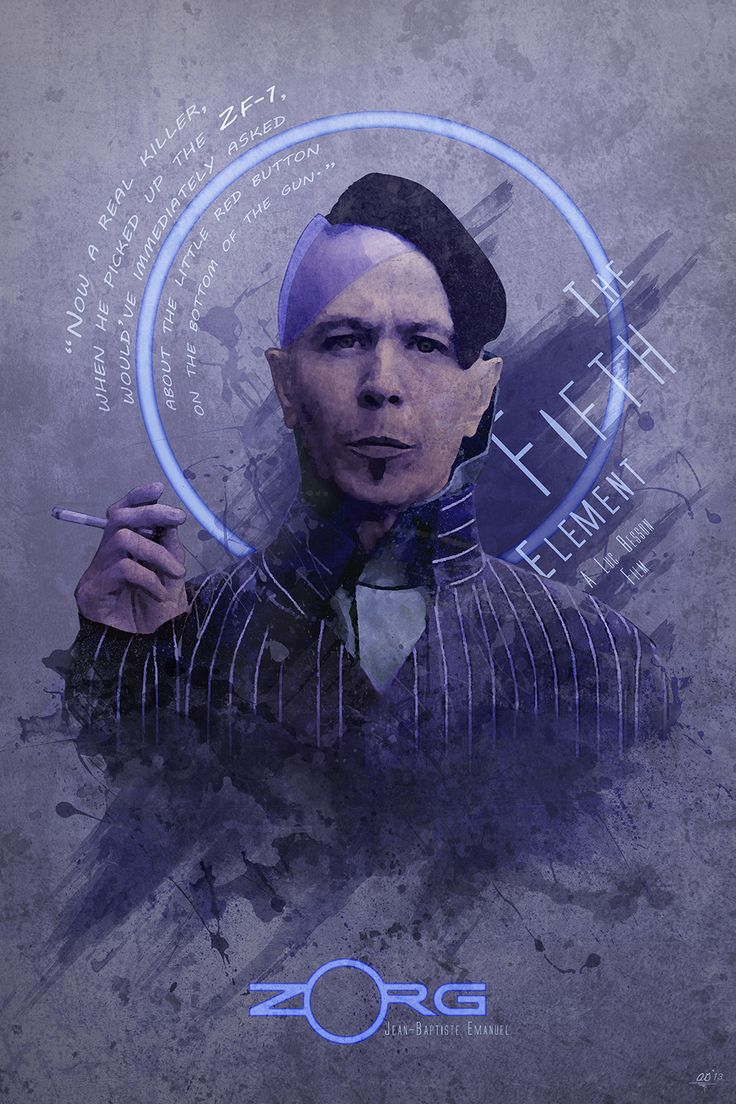 beautyliesinmovieposters:  'Zorg' The Fifth Element alternative movie poster designed by Digital Theory Design