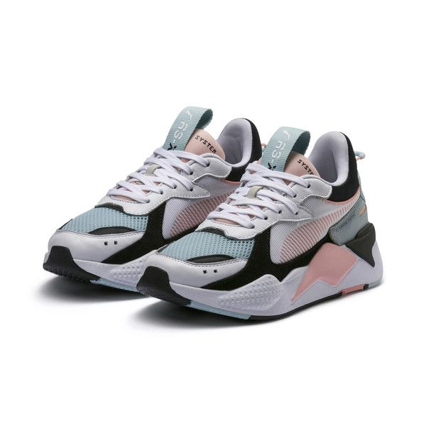 RS-X Reinvention Women's Sneakers, Puma White-Peach Bud ...