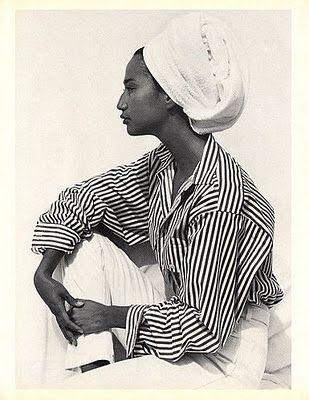 Calvin Klein SPORT Spring/Summer 1987 Model: Jackie Old Coyote Photographer: Bruce Weber