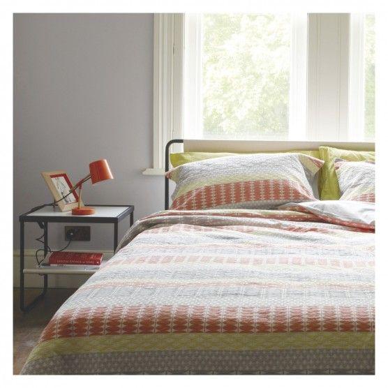 MANAMI Multi-coloured jacquard double duvet cover | Buy now at Habitat UK