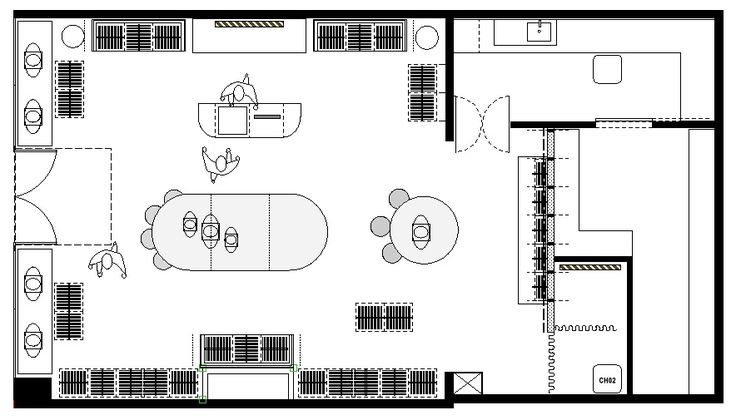 Clothing boutique floor plan clothing store layout floor for Retail store layout design free
