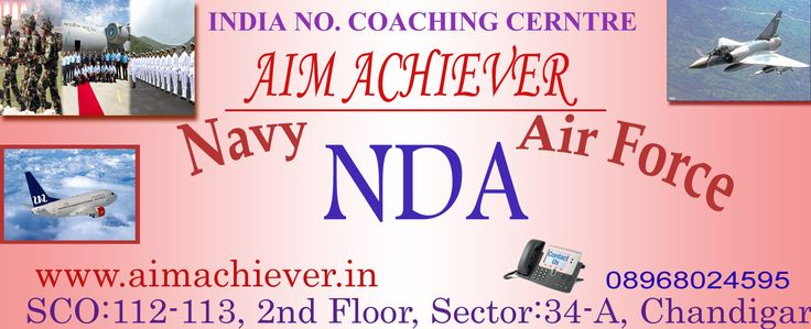 We provide best coaching for defence exams for instance nda , cds, afcat and so on...  http://www.aimachiever.in/nda.php