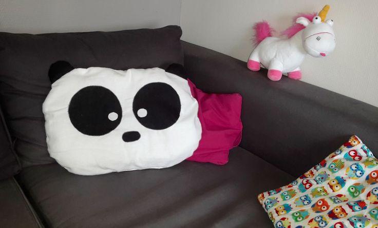 Tuto coussin Panda