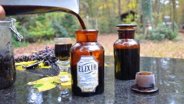 czarny eliksir ( czarny bez )