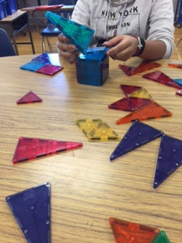 My students need to recognize the difference of 2-D and 3-D shapes and their properties. With these hands-on manipulative these students will be able to carry over into their work and life skills.
