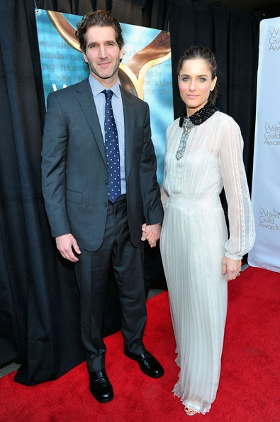 David Benioff and Amanda Peet <3