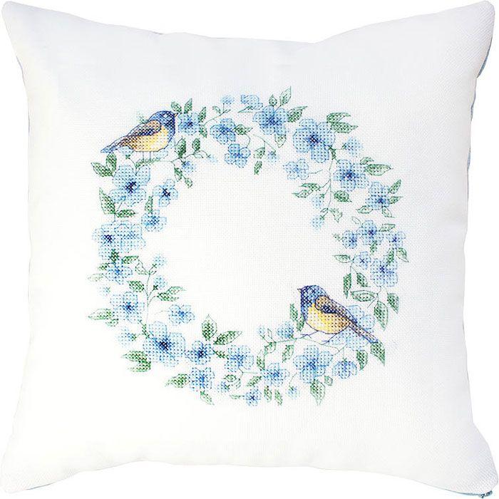 Blue Bird Cushion Cross Stitch Kit | sewandso