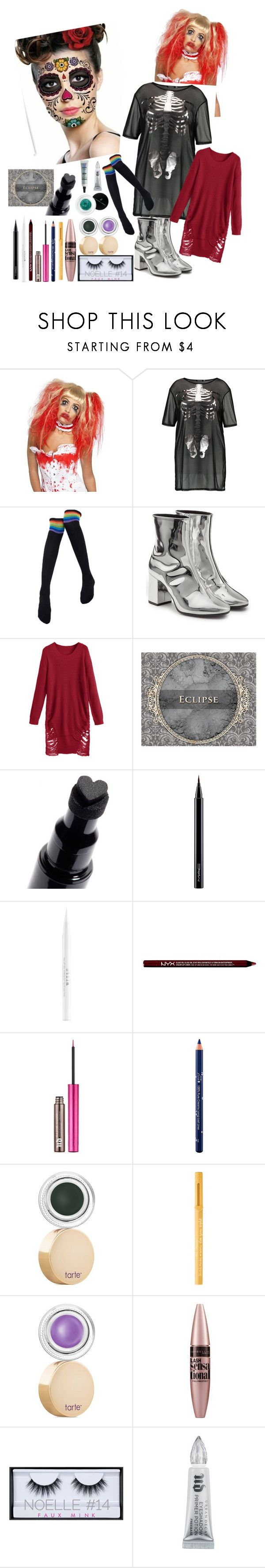 """#promqueen"" by mackeahla-veronica ❤ liked on Polyvore featuring beauty, Balenciaga, MAC Cosmetics, Stila, Charlotte Russe, Urban Decay, Vincent Longo, 100% Pure, tarte and Too Faced Cosmetics"