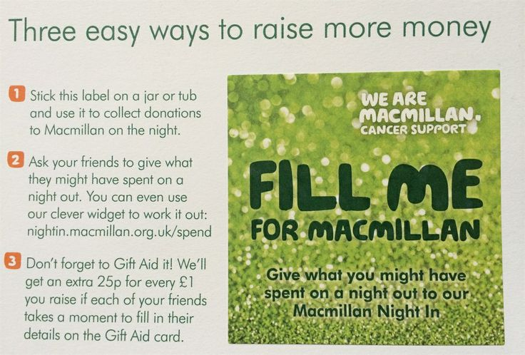 Link to our Just Giving page, we will be taking part in Macmillan's Night In, details are in the link xx  http://jaydons-boutique.co.uk/news/4365-charity-of-choice-macmillan.aspx