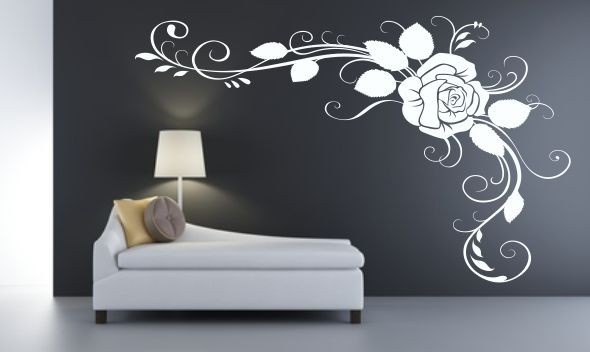 Skinrose - Vinilo decorativo floral