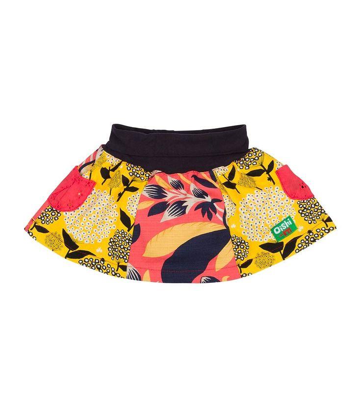 Daisy Skirt, Oishi-m Clothing for kids, Spring 2016, www.oishi-m.com
