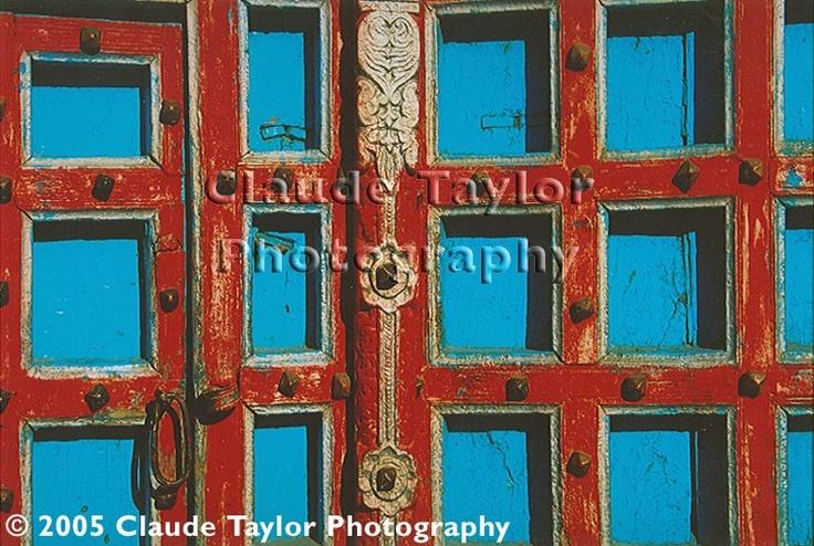 Red-Blue Doors