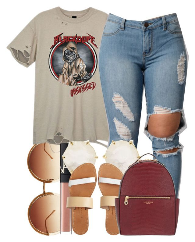 """""""Untitled #397"""" by ashcake-wilson ❤ liked on Polyvore featuring Linda Farrow, NARS Cosmetics, Ippolita, Isapera and Henri Bendel"""