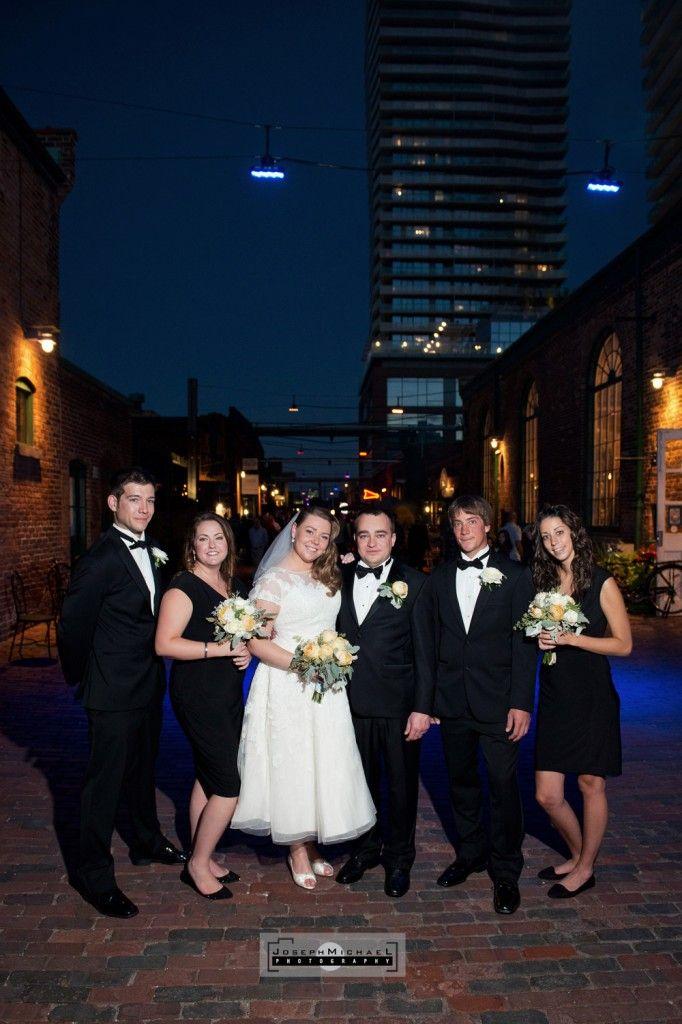 Balzac's Coffee Distillery District Toronto Wedding Photography