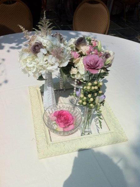 Vintage Centerpiece Wedding Flowers Photos & Pictures - WeddingWire.com