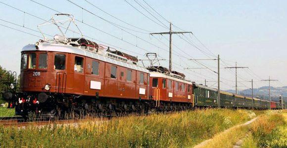 Swiss Classic Train Doppeltraktion BLS Ae 68 63127_01