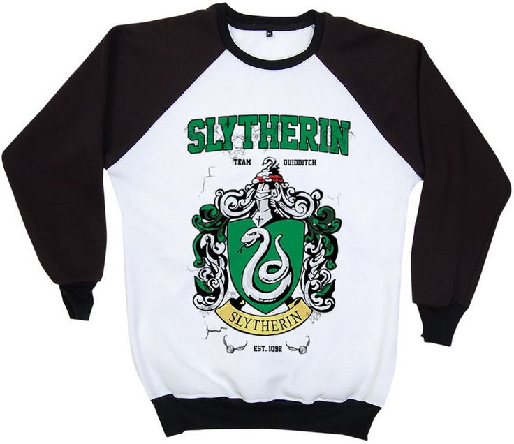 Slytherin #Harry #Potter Hogwarts Quidditch Team #Festival Retro  2 Tones Jumper ,  View more on the LINK: http://www.zeppy.io/product/gb/3/227258586/