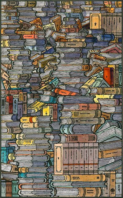 Closed books by freekhand, via Flickr