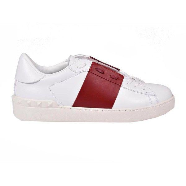 Valentino Garavani Sneakers (540 AUD) ❤ liked on Polyvore featuring shoes, sneakers, valentino sneakers, valentino trainers and valentino shoes