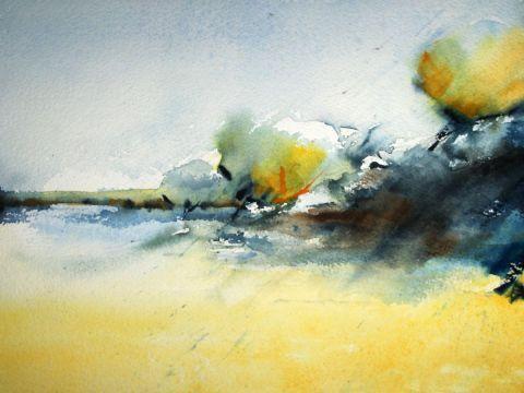 """Bord de mer"" by Laurencegh (Laurence Ghislain)"