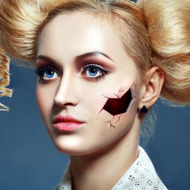 Broken Doll Makeup Tutorial - Mugeek Vidalondon