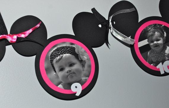 Banner de retro da Minnie